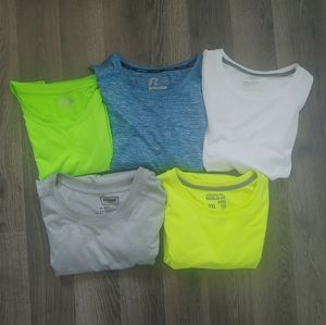 Mixed Lot of 5 Athletic Tops